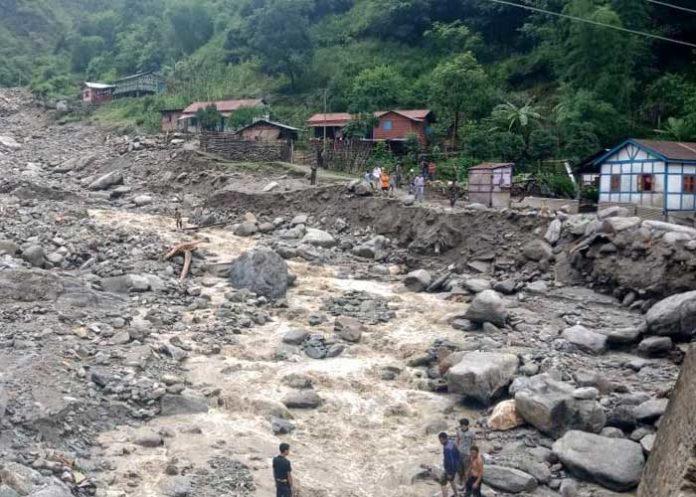 himachal landslide Kameng