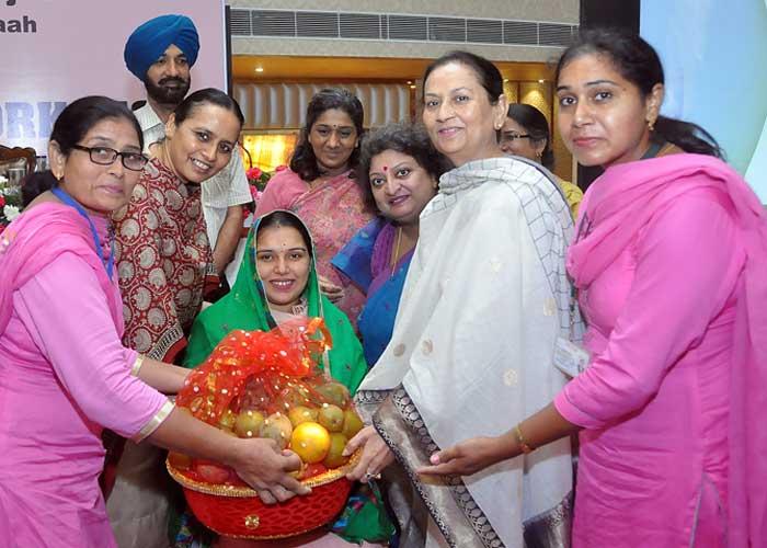 Aruna Chaudhary Poshan Maah Function