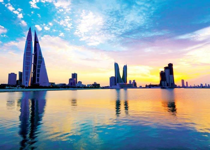 Bahrain Manama Skyline