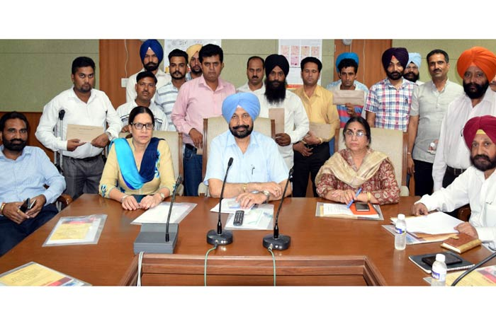 Balbir Sidhu hands over Appointment Letters