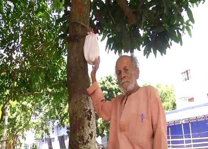 Bholanath Alok kept ash