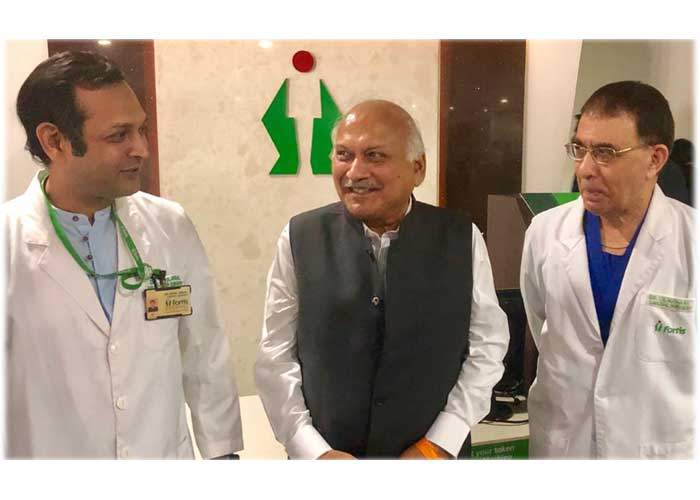 Brahm Mohindra discharged from Hospital