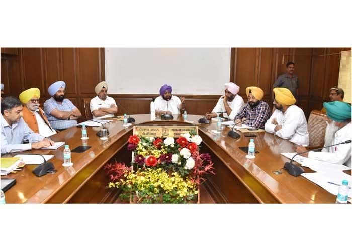 Capt Amarinder Kisan Sangharsh Committee Meeting