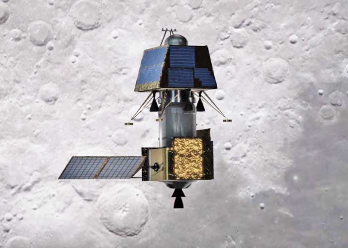 Chandrayaan 2 in Space