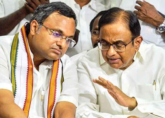 Chidambaram and Karti