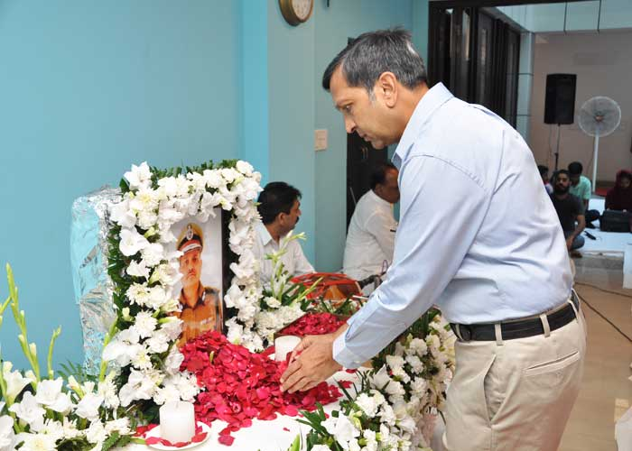 Dinkar Gupta tribute to CSR Reddy