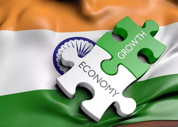 Economy India Flag