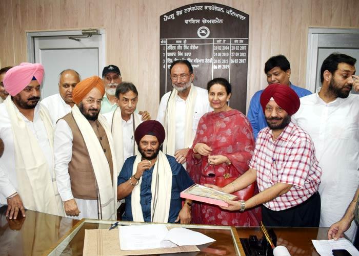 Gurinder Singh Dua Deputy Chairman of PRTC