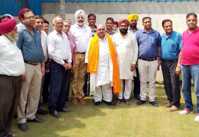 Gurpreet Singh at meeting