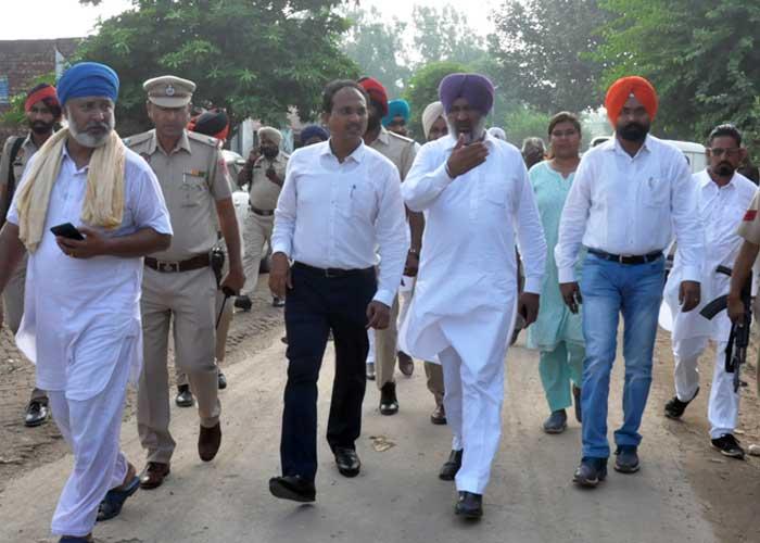Hardev Laddi Varinder Sharma village Mehrajwala Inspection
