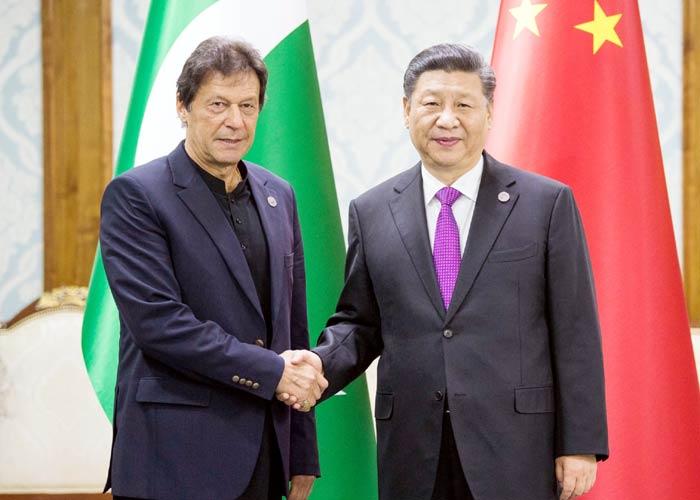 Imran Khan meet Xi Jinping