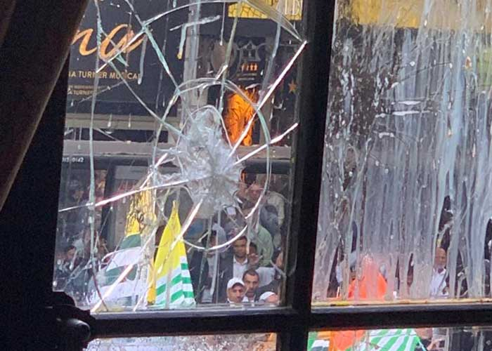 Indian Embasssy London attacked