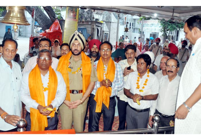 Jalandhar DC CP MC at Baba Sodal Mela
