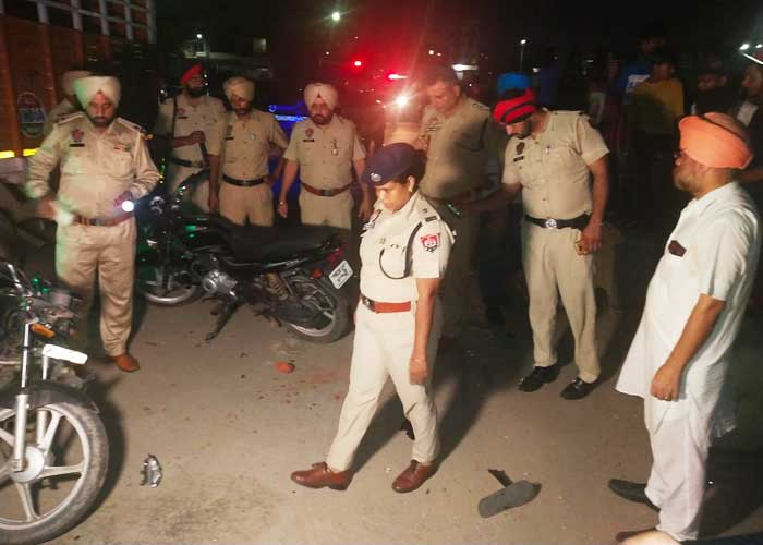 Jalandhar Maqsudan Mandi Fight 1