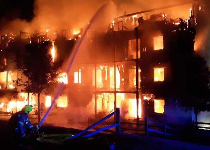 London Worcester Park Fire