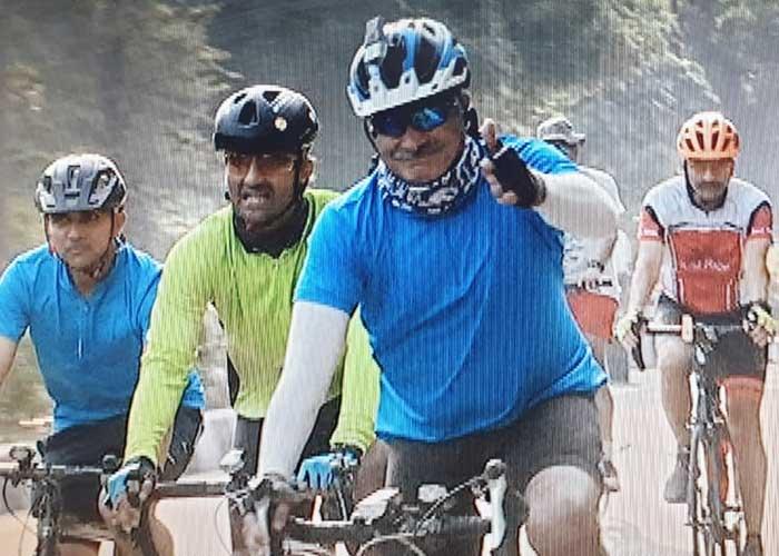 Lt Gen Alok Singh Kler Cycle