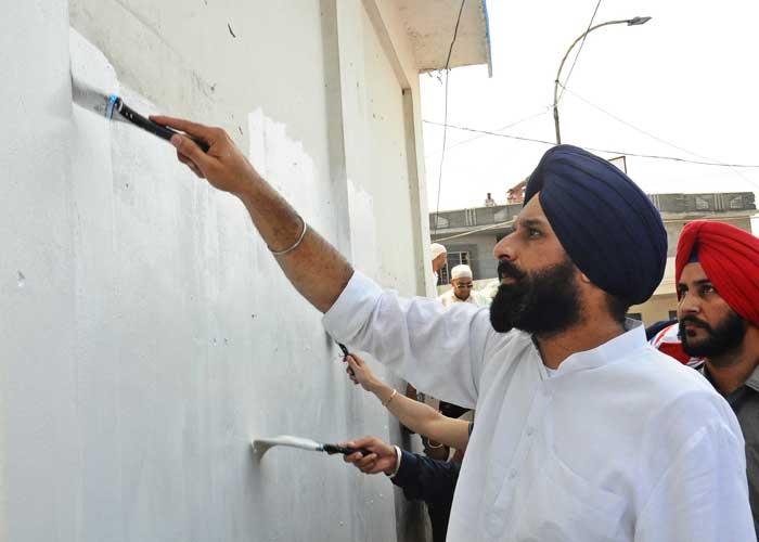 Majithia Painting Wall White Sultanpur Lodhi