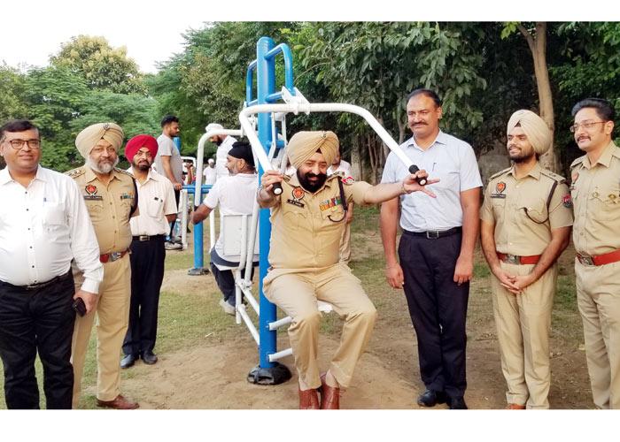 Mandeep Singh Sidhu SSP Open Gym