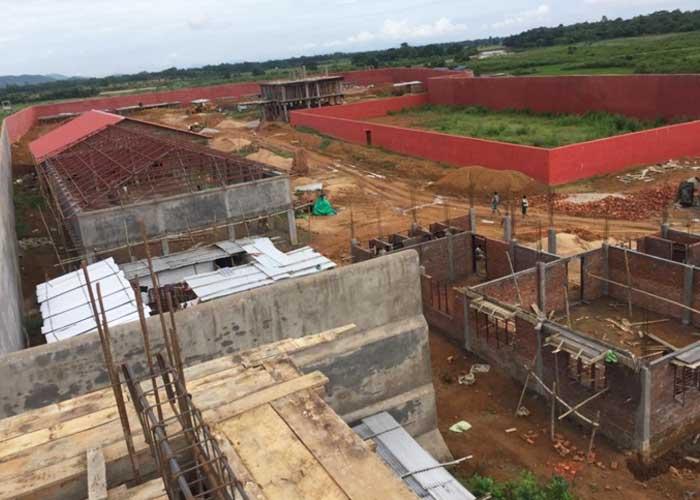 Matia Detention Camp Construction