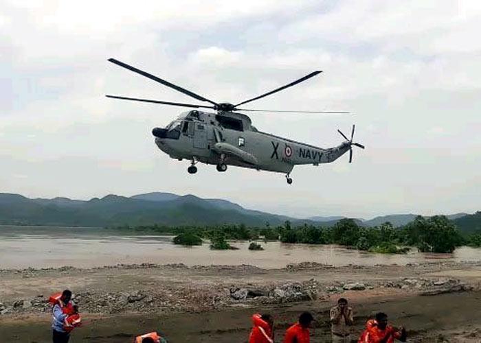 Missing tourists in Godavari river