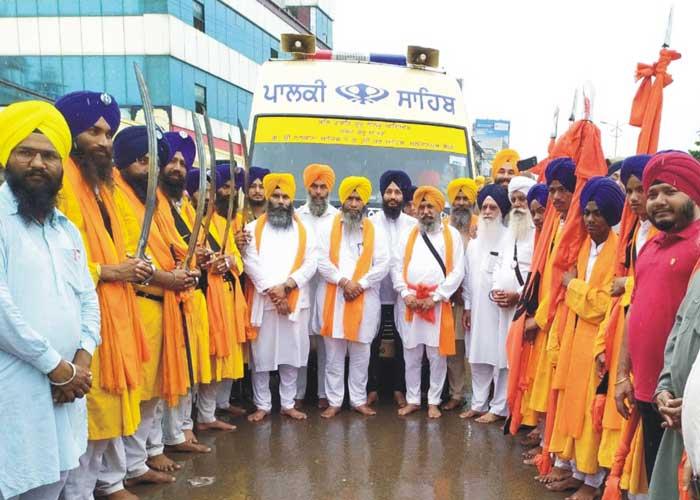 Nagar Kirtan reaches Raipur Chhattisgarh 2