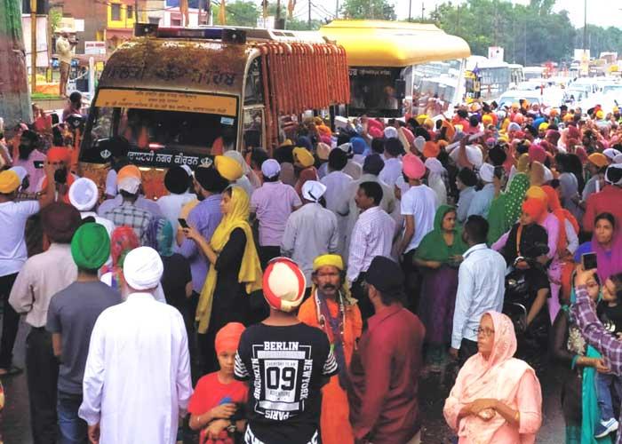 Nagar Kirtan reaches Raipur Chhattisgarh 3