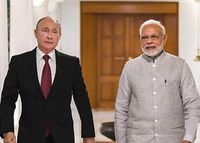 Narendra Modi Vladimir Putin