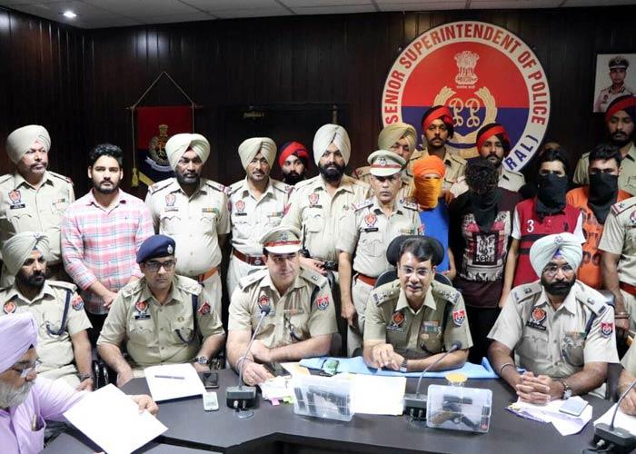 Navjot Mahal arrest Snatching Gang