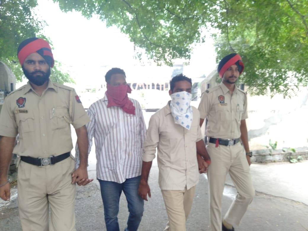 Police Personnels Caught taking drugs Jalandhar