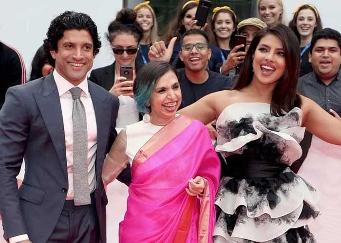 Priyanka Farhan The Sky Is Pink TIFF