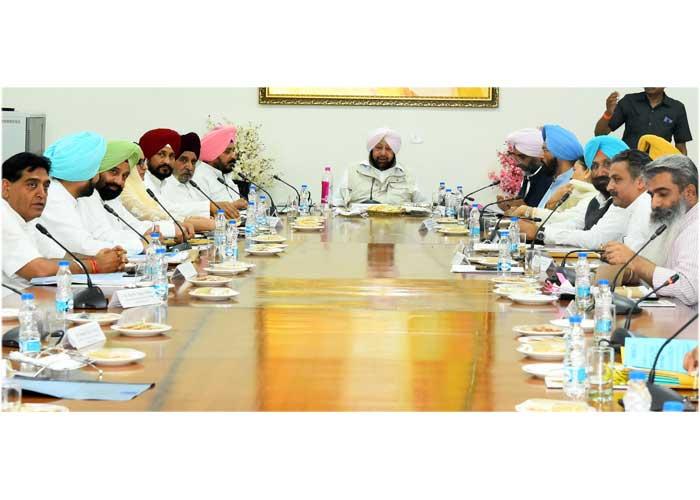 Punjab Cabinet Meeting 10Sep19