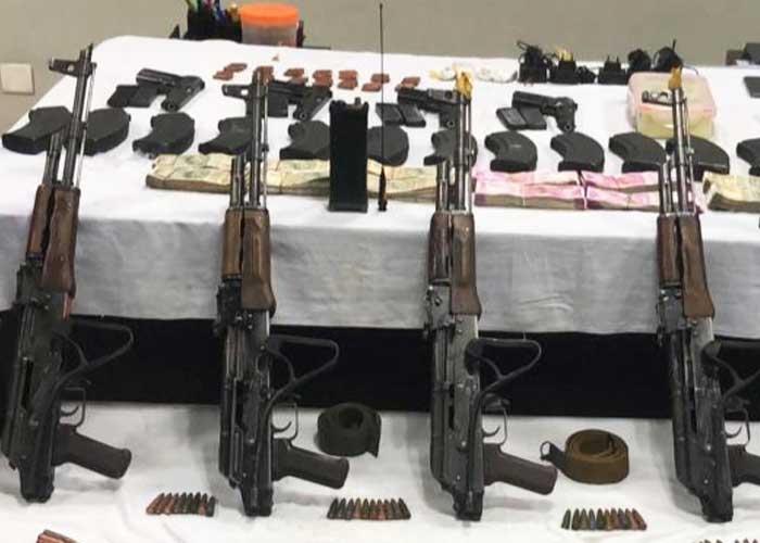 Punjab Police nabbed with AK47