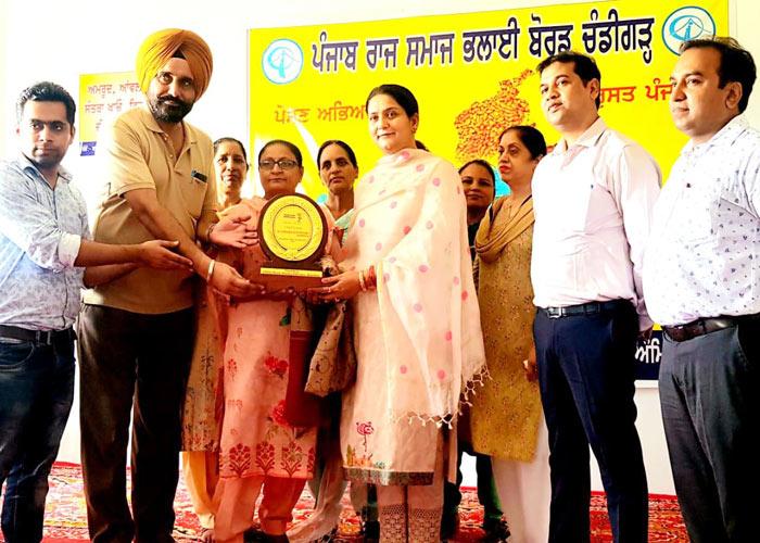 Punjab Social Welfare Board awareness on Malnutrition