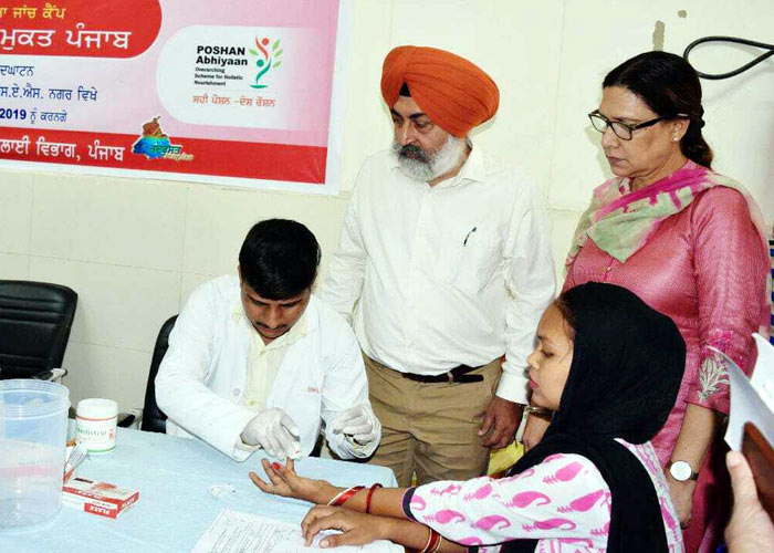 Punjab launches anemia free campaign
