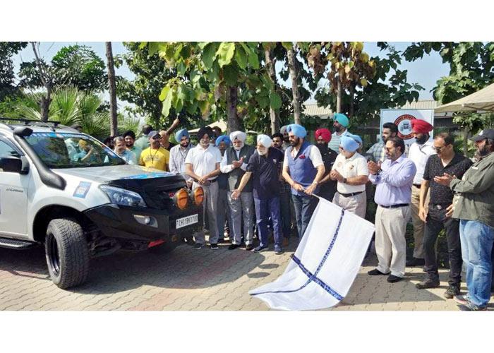 Rana Sodhi flags off Shivalik Car Rally