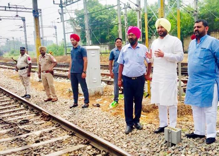 Ravneet Bittu Jagraon Railway Overbridge