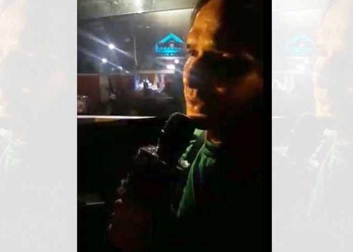 Vinod Uber driver sings song