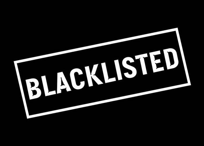 blacklisted logo