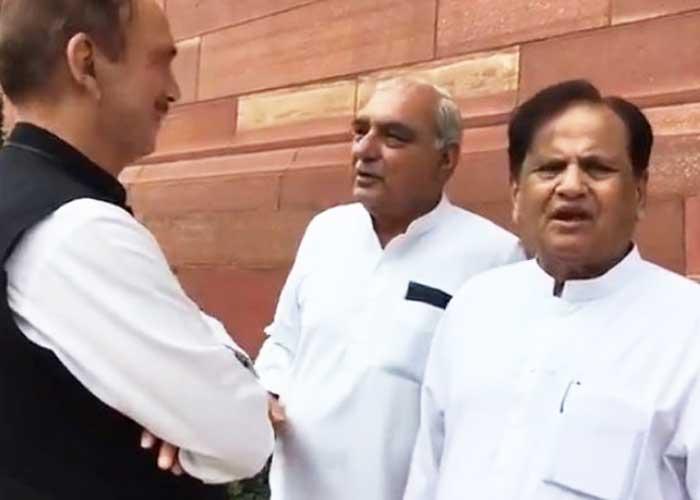 Ahmed Patel Hooda Ghulam Nabi Azad