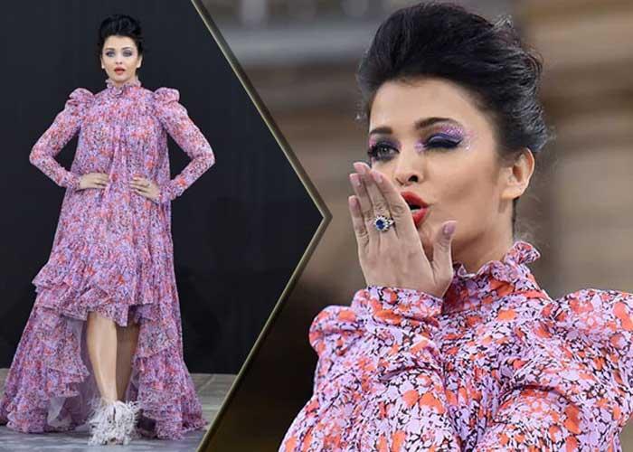 Aishwarya Rai Paris Fashion Week