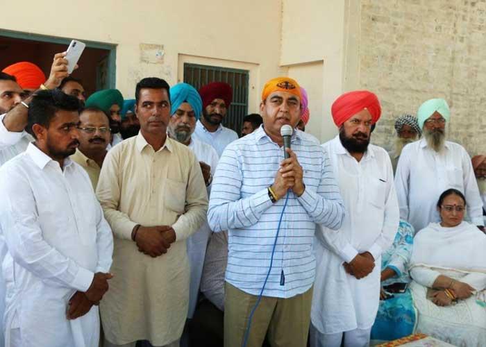Capt Sandeep Sandhu Meeting Dakha