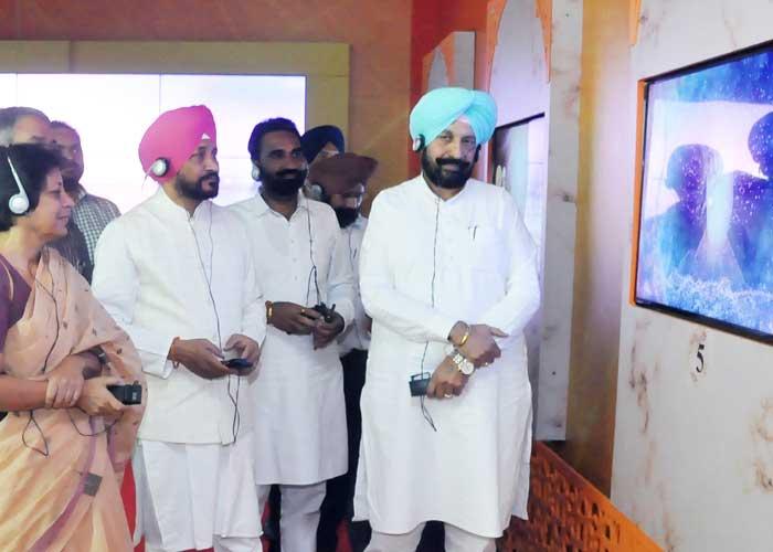 Channi Balbir Sidhu Inaugrates Light and Sound Show