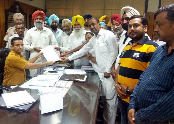 Cheema boycott paddy purchase in Punjab