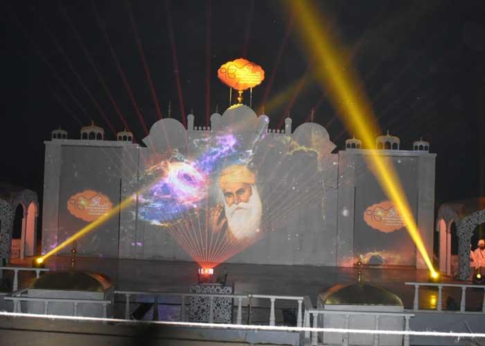 Floating Light Sound Show Beas Tanda Hoshiarpur