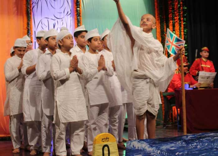 Gandhi Jayanti Event Bhavan Vidyalaya Chandigarh