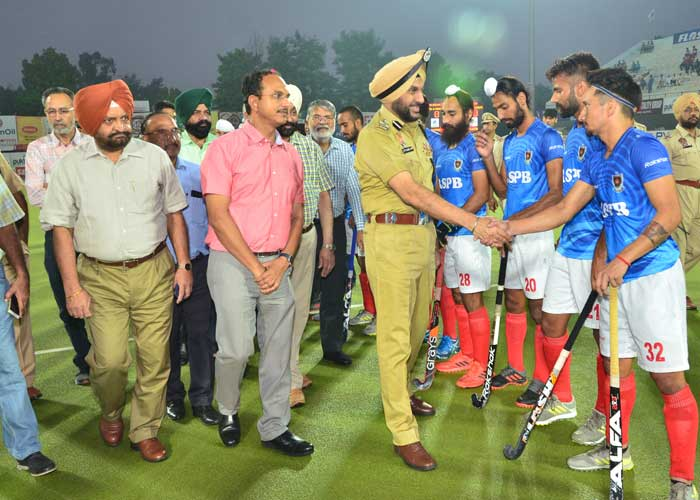 Gurpreet Bhullar Surjit Hockey 17Oct19
