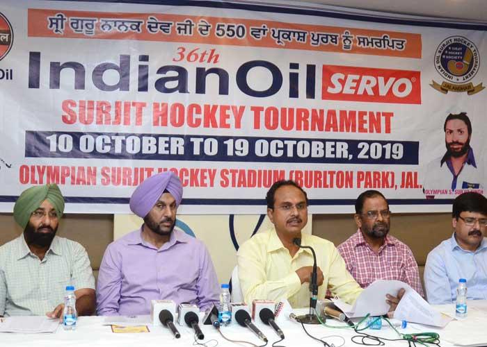 Gurpreet Bhullar Varinder Sharma 36th Surjit Hockey PC