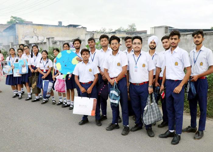Innocent Hearts Schools pledge Say No to Plastic