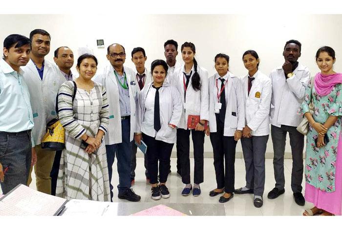 Innocent Hearts Visit Fortis Hospital