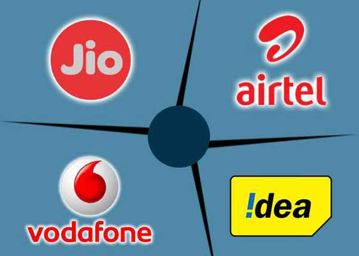 Jio Airtel Vodafone Idea